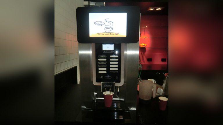 Koffie automaat robot