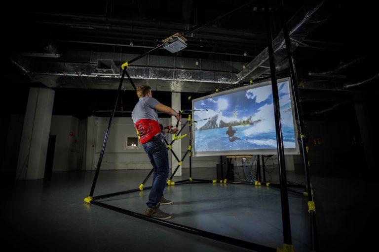 Kiteboard Simulator